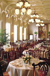 dining room on american empress