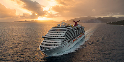 carnival cruise lines review breeze tortola