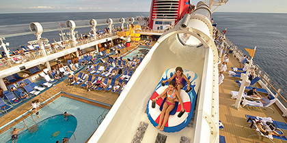 Disney Dream Aqua Duck water slide