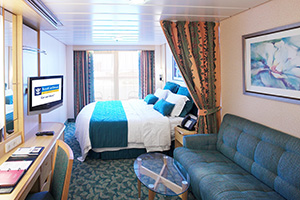 freedom of the seas deluxe oceanview cabin