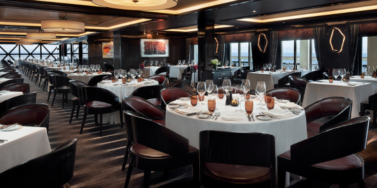 Norwegian joy steakhouse dining cagney's specialty restaurant