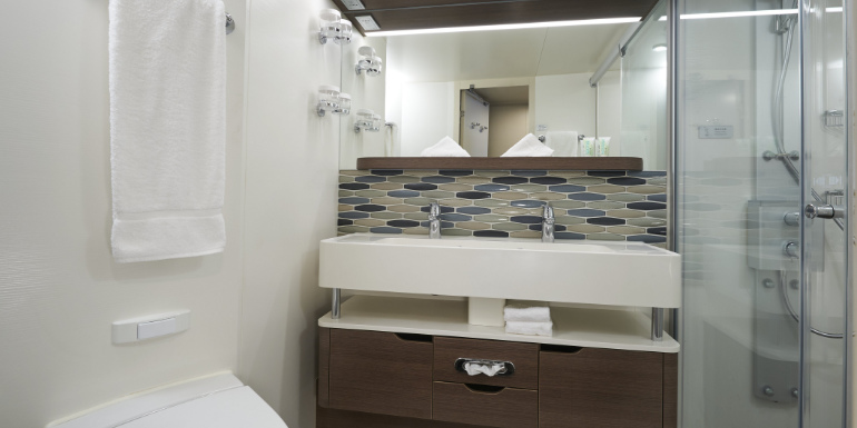 norwegian joy cabin stateroom shower