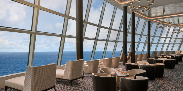 norwegian joy observation lounge windows ship sightseeing