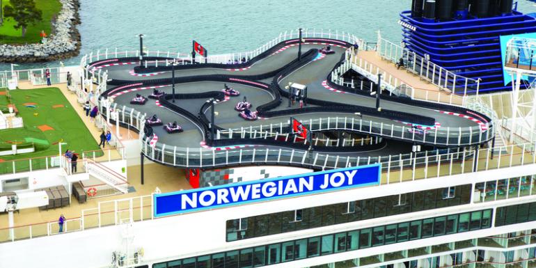 norwegian joy speedway go karts track