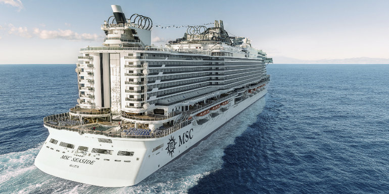 msc cruises seaside ship miami deck