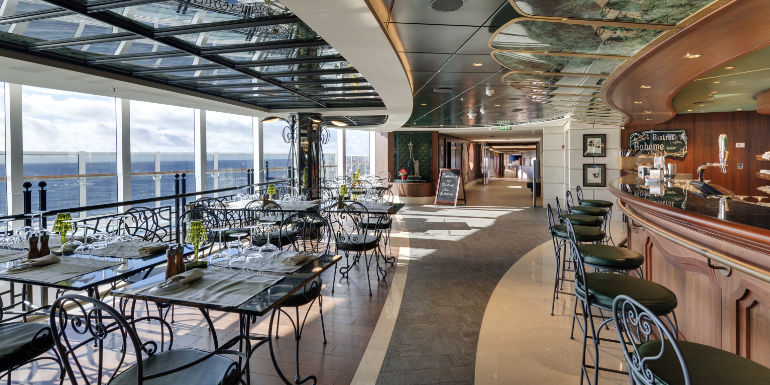 bistrot la boheme msc seaside cruise