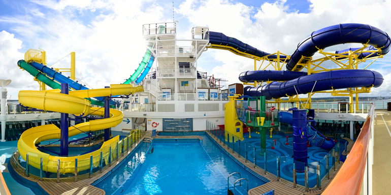 waterslides panorama norwegian escape