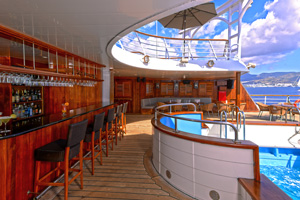 windstar star pride cruise pool bar