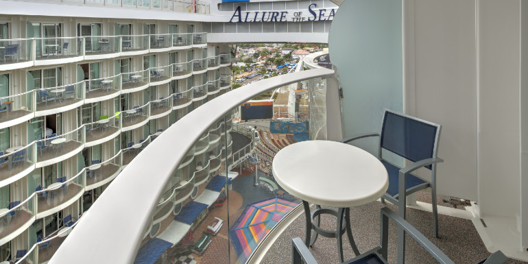 boardwalk balcony allure seas tips
