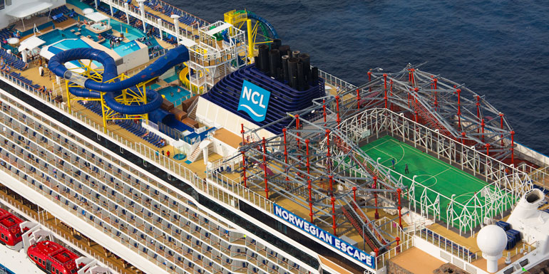 norwegian escape ropes course best activities