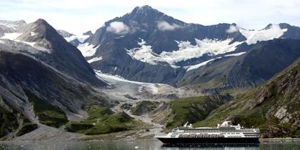 holland america ms veendam glacier bay
