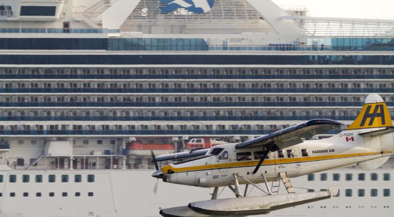 alaska princess cruise ship floatplane ketchikan