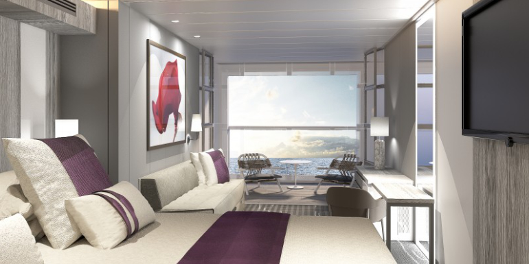 celebrity edge debuting early cruise cabin