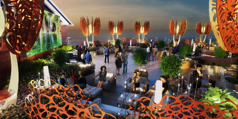 celebrity edge rooftop garden grill barbecue