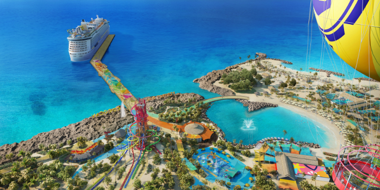 royal caribbean perfect day cococay pier schedule