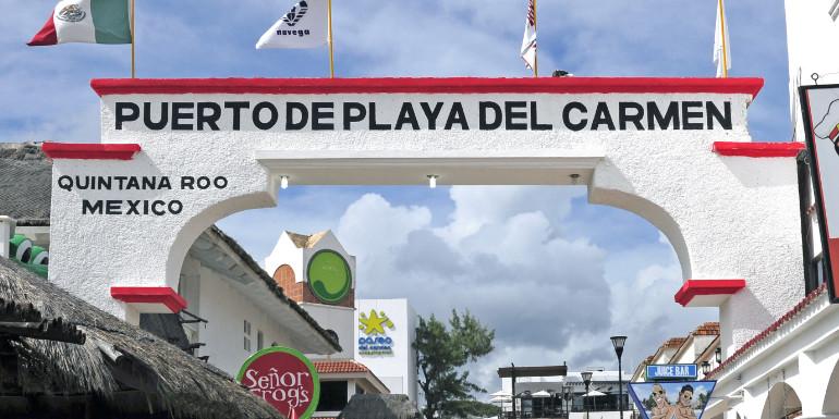 playa del carmen cozumel mexico port