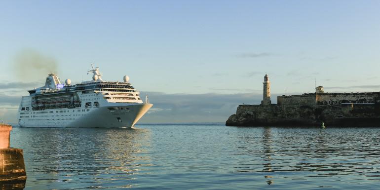 cuba tourism american cruise line calls