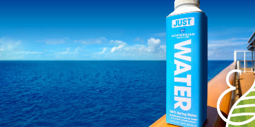 Norwegian Becomes First Major Cruise Line to Eliminate Plastic Water Bottles Fleetwide