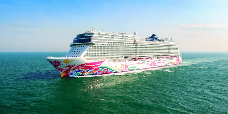 norwegian joy china alaska $50 million