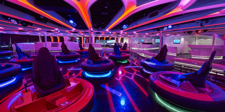 norwegian joy galaxy pavilion laser tag