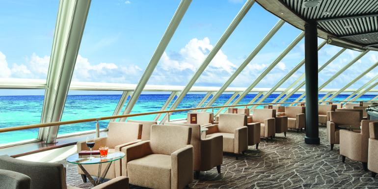 norwegian cruise sky miami spinnaker lounge refurbishment