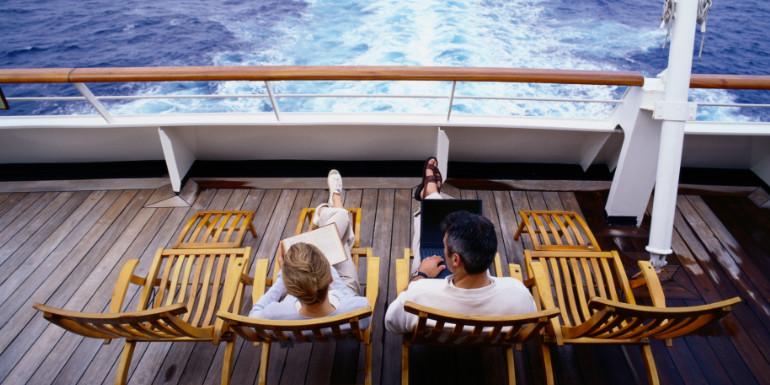 cruise ship oceania cruises free internet
