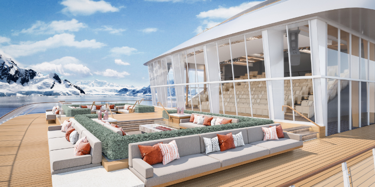 viking expedition ship terrace rendering