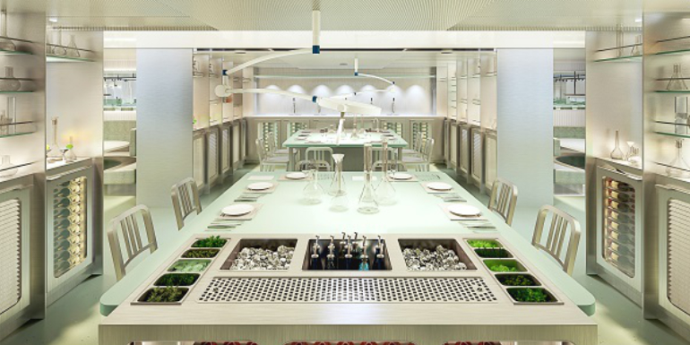 virgin voyages test kitchen restaurant cruise