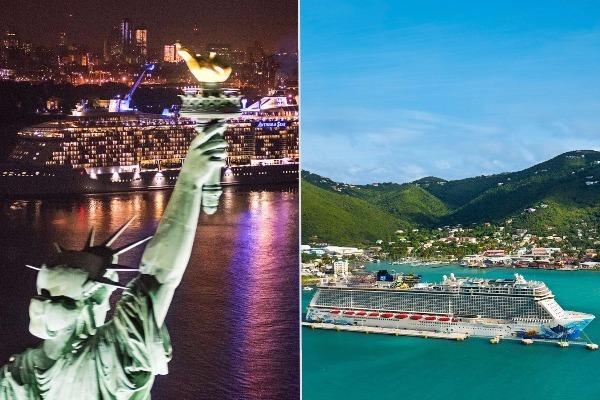 anthem seas norwegian escape itineraries routes