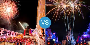 Disney Cruise vs. Walt Disney World: Smackdown!