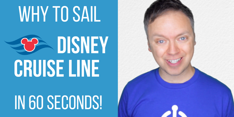 disney cruise line 60 seconds