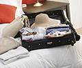 Suitcase for a long-haul flight