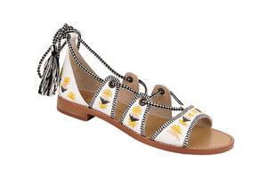 house of harlow cruise sandal fashion