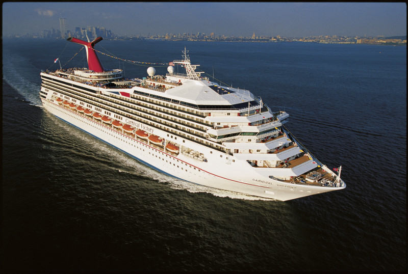 Carnival Victory cruise ship from Carnival Cruise Line.