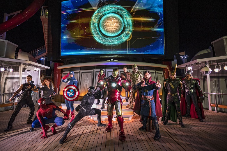 Disney Magic Marvel Day at Sea